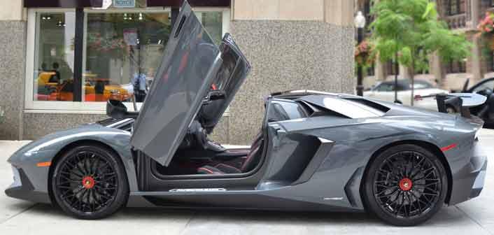 Aventador Roadster SV
