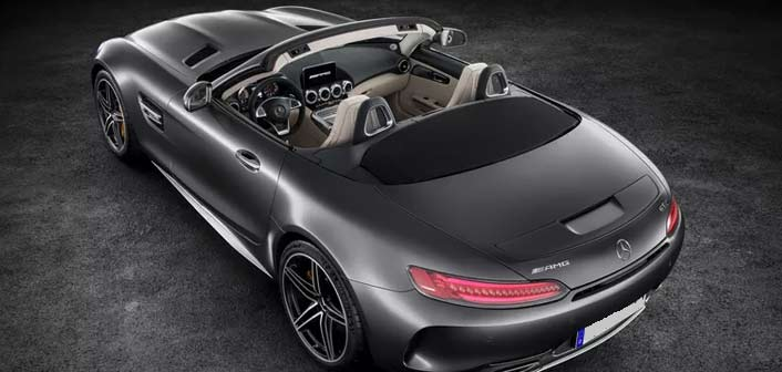 AMG GT Roadstert view 2