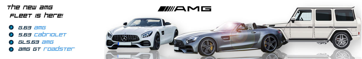 Rent G63 AMG AMG GT Roadster