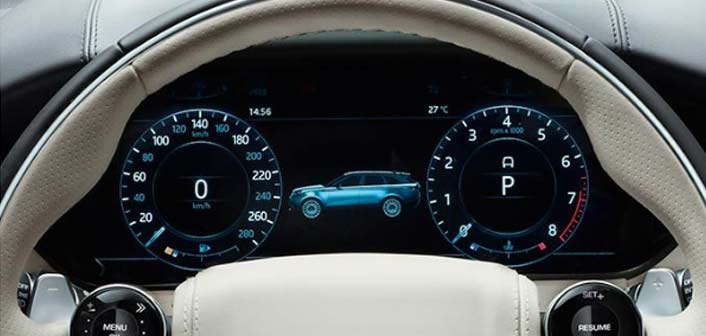 Range Rover velar seat vue